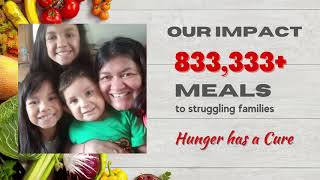Indian Cultural Association Fights Hunger - Distributes 1 million pounds of food to needy families