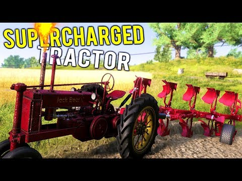 NEW SUPERCHARGED PLOW TRACTOR! Fields Ready for Massive Profit! - Farmer's Dynasty Gameplay