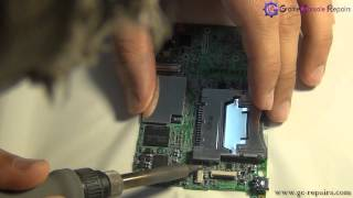 Nintendo DSi Game Card Slot Replacement FULL HD(How to replace Nintendo DSi Game Card Slot Tutorial contains full information how to carry out Game Card Slot replacement on Nintendo DSi Console., 2012-04-22T21:03:17.000Z)