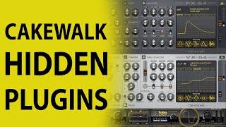 Cakewalk by Bandlab: The Hidden Plugins