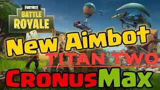 FORTNITE RAZOR 5.5 BEST AIMBOT CRONUSMAX TITAN TWO PS4 XBOX ONE PC