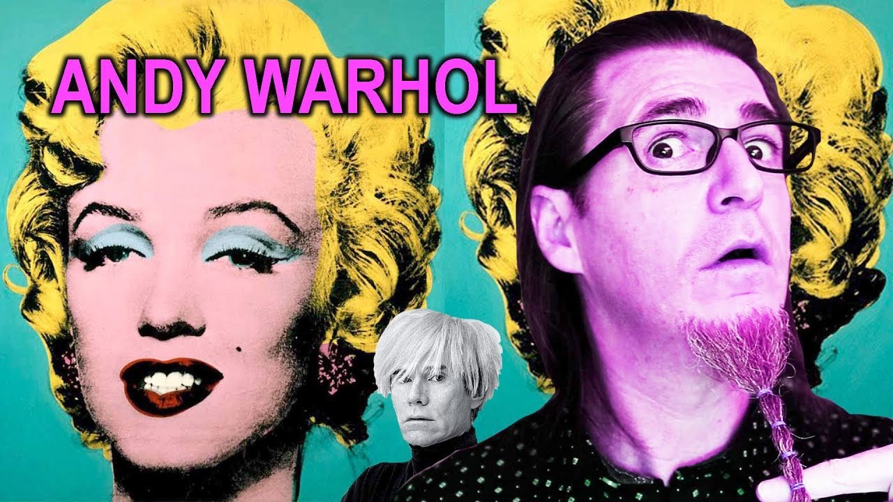 la cursi y repetitiva obra de andy warhol youtube. Black Bedroom Furniture Sets. Home Design Ideas
