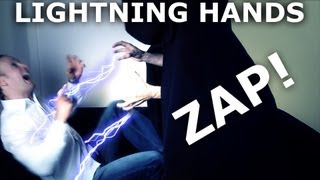Adobe After Effects Lightning Tutorial - Star Wars Emporer Lightning Hands