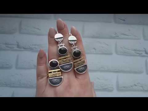 ЭКСКЛЮЗИВНЫЕ серебряные украшения с натуральными камнями из Армении !