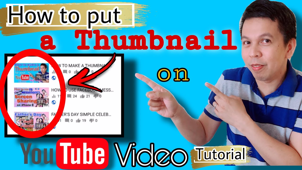 Download HOW TO PUT A THUMBNAIL ON YOUTUBE VIDEOS || 8 STEPS - TUTORIAL 2020
