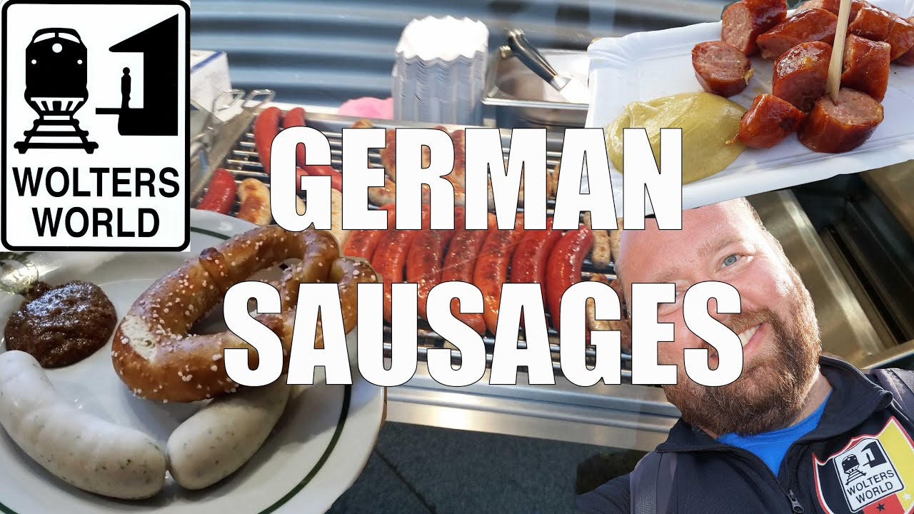 German Sausages & What to Eat in Germany