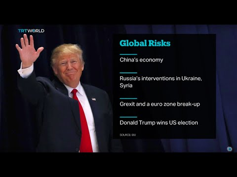 TRT World's Craig Copetas analyses Economist Global Risks