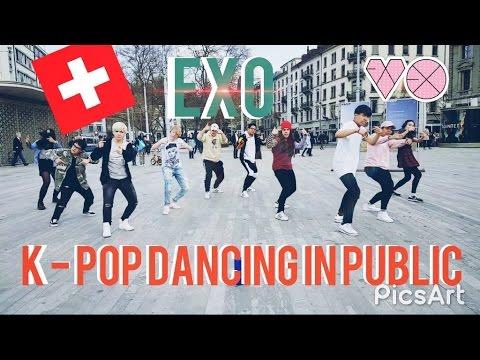 [K-POP DANCING IN PUBLIC] EXO_GROWL(으르렁)_FLASHMOB_UKK Dance