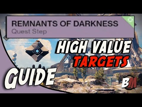 Destiny: Remnants Of Darkness - High Value Targets Quest Guide