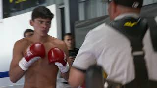 (Don't Blink) Ryan Garcia Sick Speed & Power The Future Of Golden Boy Boxing EsNews Boxing