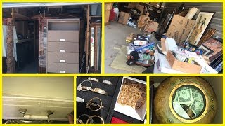 Vlog 219 what's inside $4100 storage units, a day in the life of a storage auction pirate