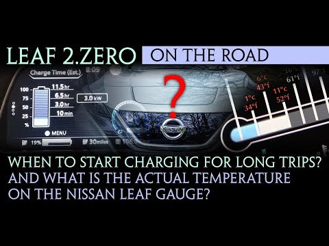 Nissan Leaf 40kWh 2018 - Optimum charging percent and uncove