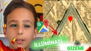 GOOGLE MAPS GİZEMLERİ!! (İLLÜMİNATİ)