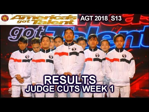 RESULTS JUDGE CUTS Week 1 Who Advanced to Live Show? America's Got Talent 2018 Judge Cuts AGT