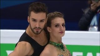 Le couple Papadakis - Cizeron prend la tête du programme court de danse sur glace