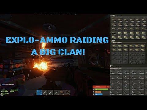 EXPLOSIVE AMMO RAIDING A CLAN!  & Leftover PvP Clips // Rust // OT Tonza ft. FeeqN thumbnail