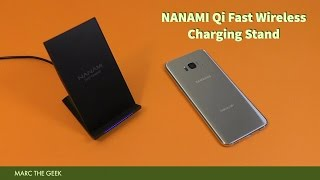 NANAMI Qi Fast Wireless Charging Stand