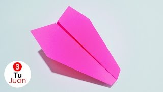 How to make a Paper Airplane - Paper Airplanes | JuanTu3