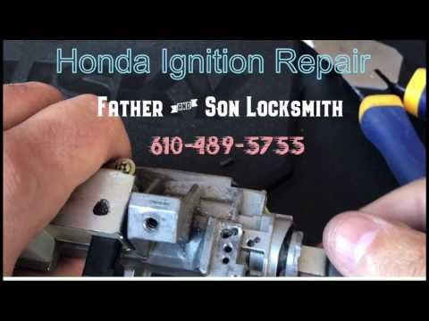 Honda Ignition Lock Repair - Step By Step Tutorial