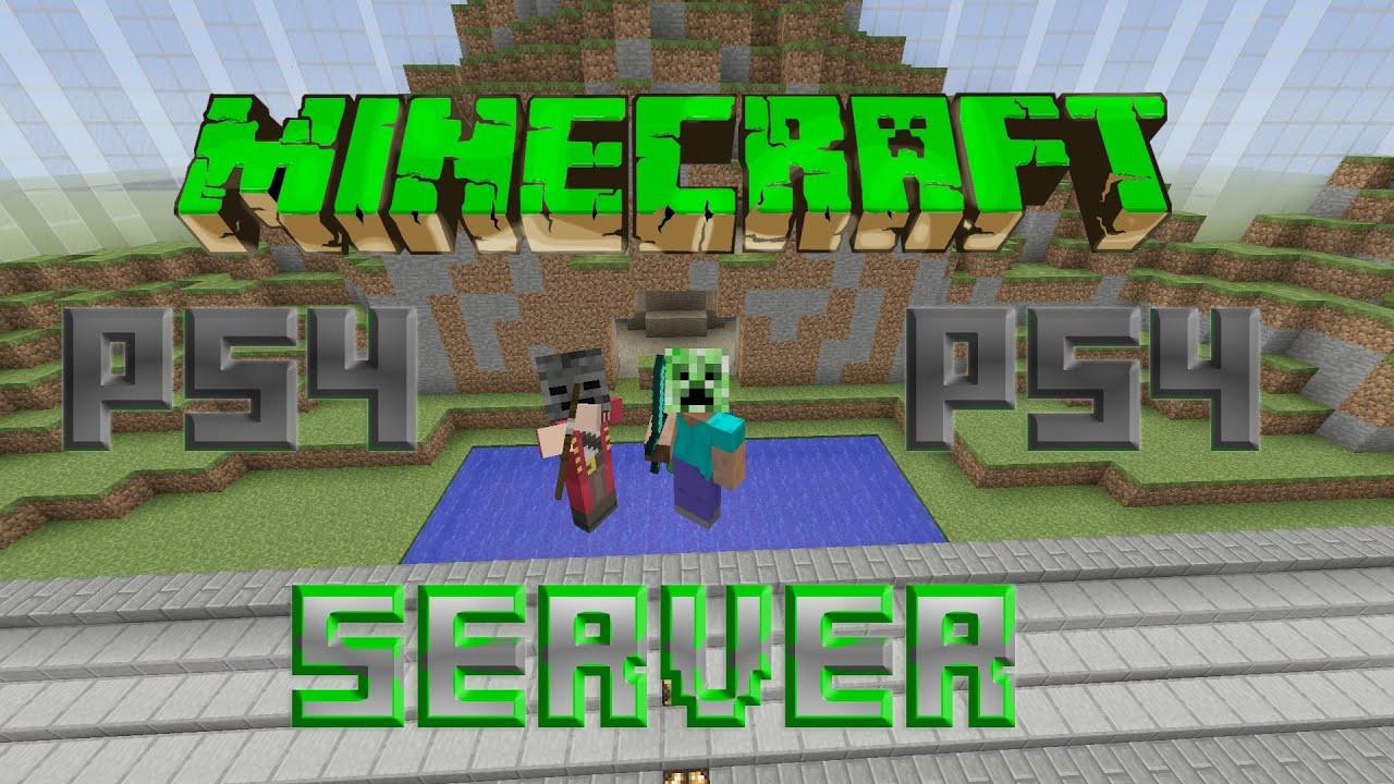Minecraft PS4 Server YouTube