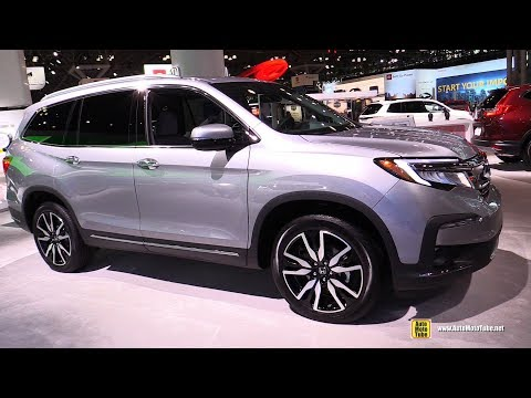 2019 Honda Pilot Elite AWD - Exterior and Interior Walkaround - 2019 NY Auto Show