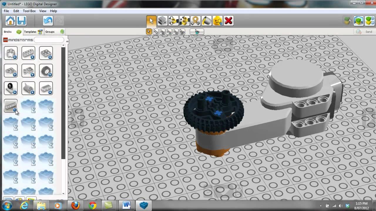 introducing lego digital designer ldd youtube. Black Bedroom Furniture Sets. Home Design Ideas