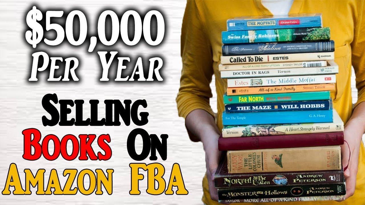 sell books on amazon fba