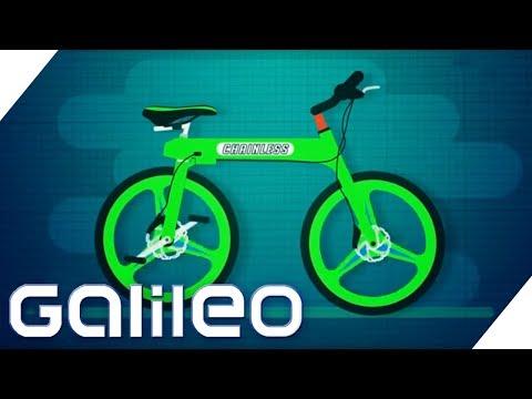 Kettenloses Fahrrad: Ist das der Drahtesel der Zukunft? | Galileo | ProSieben