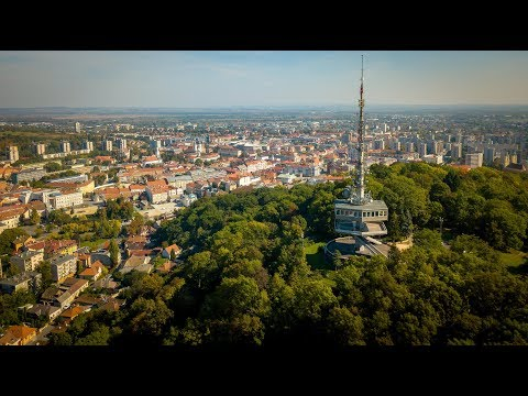 Miskolc City, HUNGARY 2017 - 4K