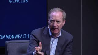 MICROSOFT PRESIDENT BRAD SMITH: THE PROMISE AND PERIL OF THE DIGITAL AGE