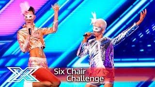 Ottavio and Bradley warm it up with Kelis' Milkshake  | Six Chair Challenge | The X Factor 2016
