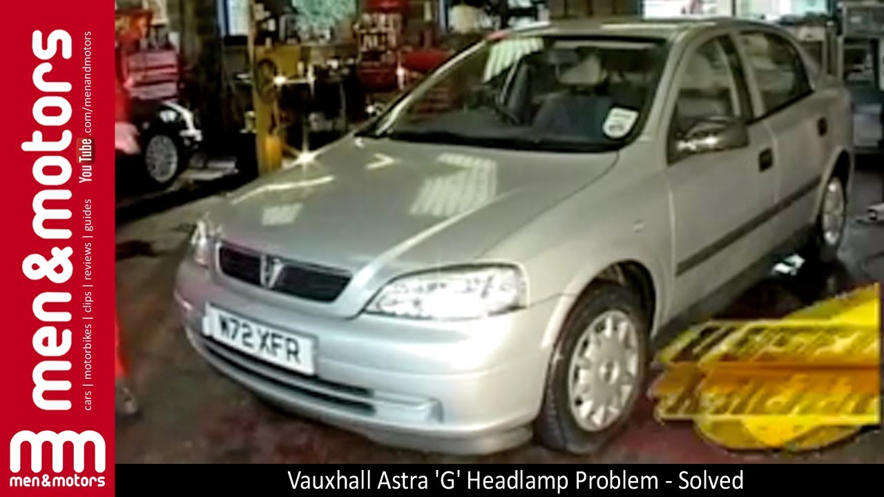 vauxhall astra mk4 wiring diagrams baldor motor capacitor diagram g headlamp problem solved youtube