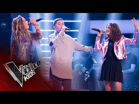 Nathan, Millianna, Jessica R - 'Runnin' (Lose It All)': Battles | The Voice Kids UK 2017