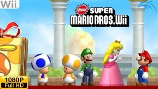 New Super Mario Bros. Wii - Wii Gameplay 1080p (Dolphin GC/Wii Emulator)