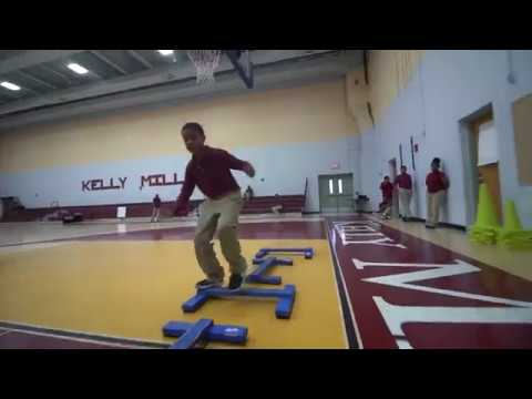 Kelly Miller Middle School Adapted PE - Parkour 2017