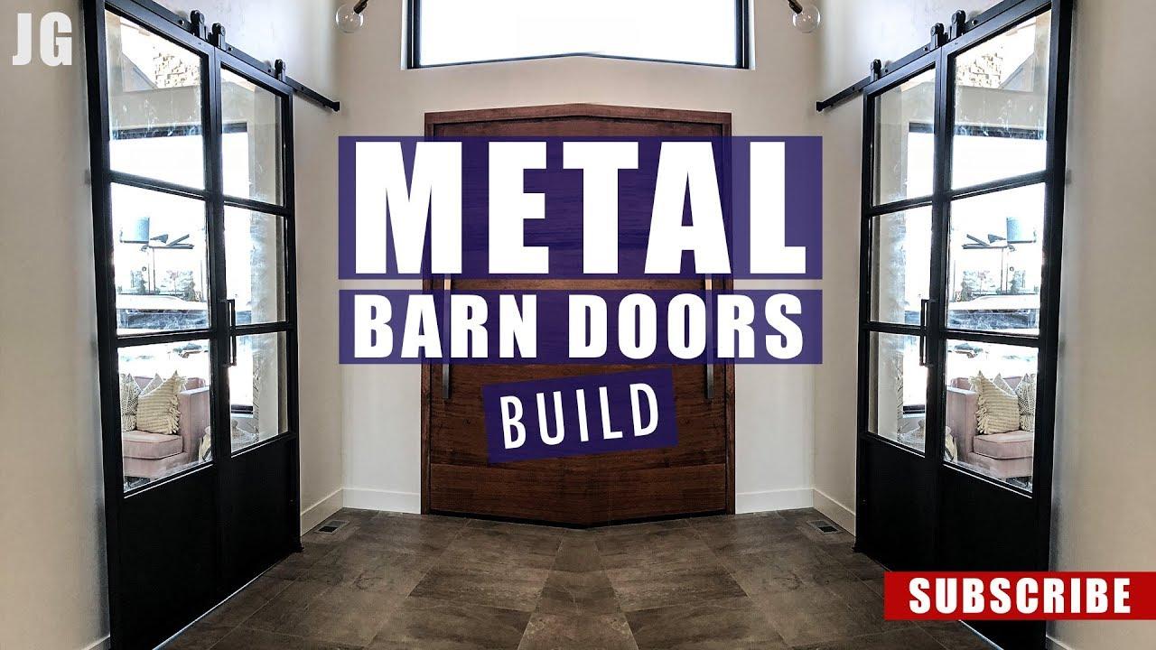 Sliding Barn Doors Jimbo S Garage Youtube