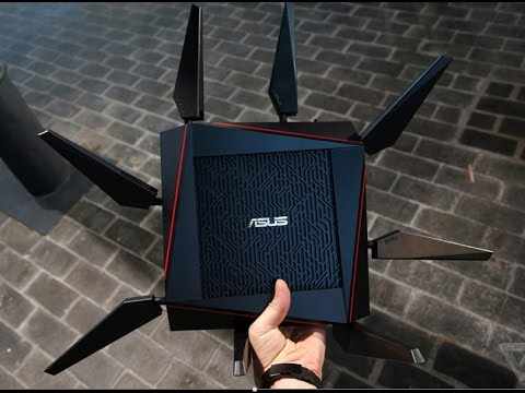 Презентация ASUS RT-AC5300, ASUS RT-AC88U и ASUS RT-AC1200G Plus