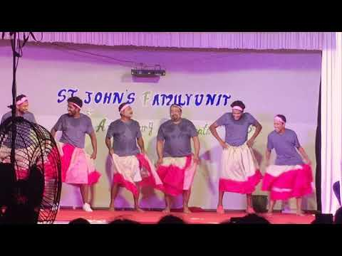 Comedy dance by St johns family unit south paravoor