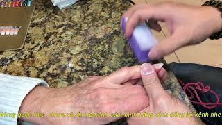 cách làm nail đơn giản tâp 32: cách buffer sao cho móng mịn đẹp