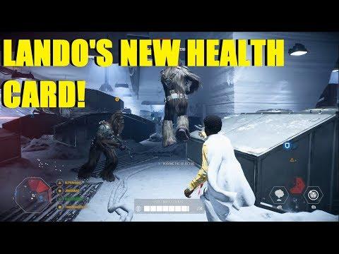 Star Wars Battlefront 2 - Testing Lando's new Health Card! | OMG this game was close! (Lando, Luke) thumbnail