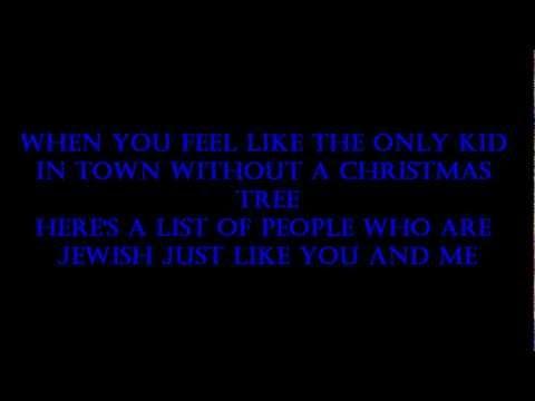 The Chanukah Song Adam Sandler karaoke wmv