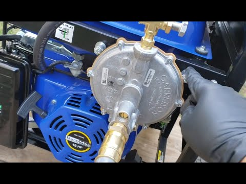 Duromax Xp12000eh Converting Gas Propane Generator To Natural Gas Dual Fuel To Tri Fuel Youtube