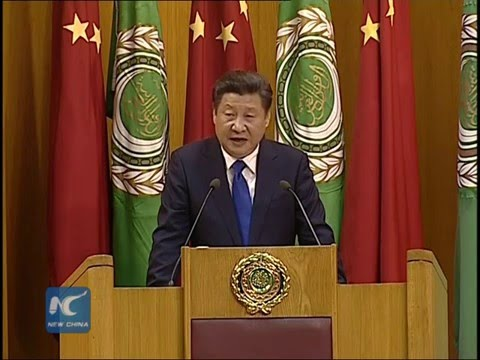 President Xi Jinping delivers speech at Arab League Headquarters (English Version)