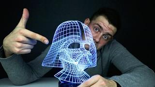 3D Светильник с AliExpress