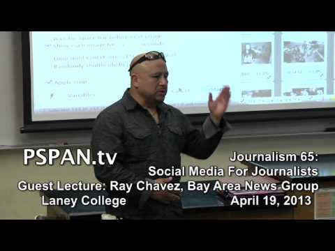 P-SPAN #315: Journalism 65 at Laney College: Guest Lectures from Photographers