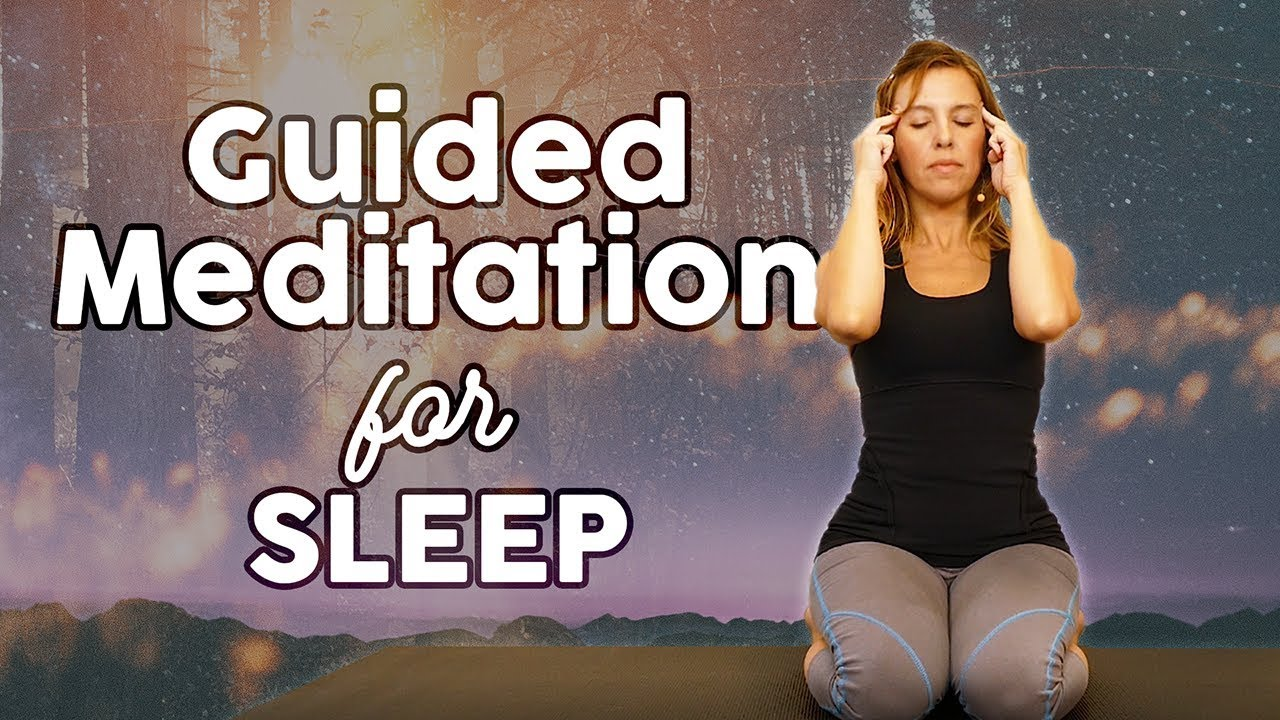 Bedtime Meditation for Restful Sleep & Deep Relaxation ♥ How to Fall Asleep, Guided Meditation A