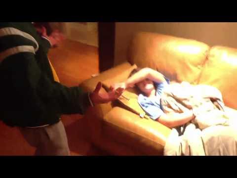 Jcap wakes white girl up