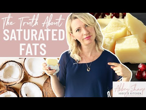 The TRUTH About Saturated Fat & Cholesterol (AND What's the Deal with Coconut Oil??)