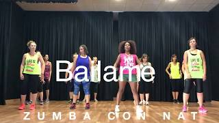 Bailame - Nacho | Zumba con Nat | (Coreografa) Dance Video |