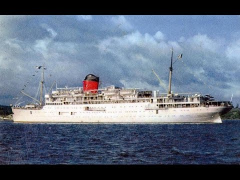 French  Line's. SS Colombie